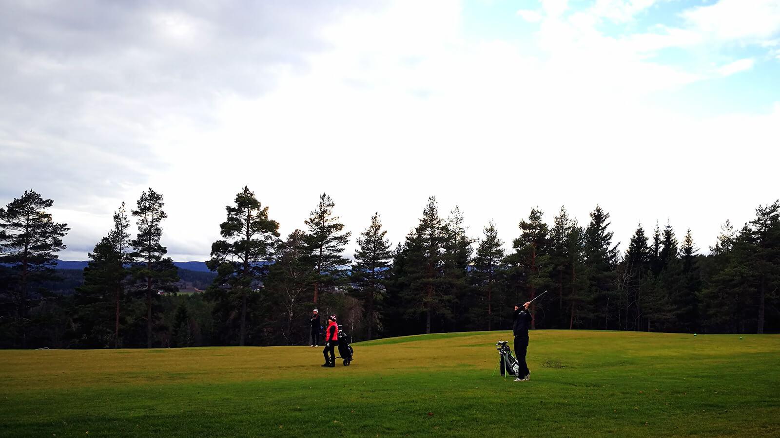 Transportslag på hull 7, Kjekstad Golfklubb