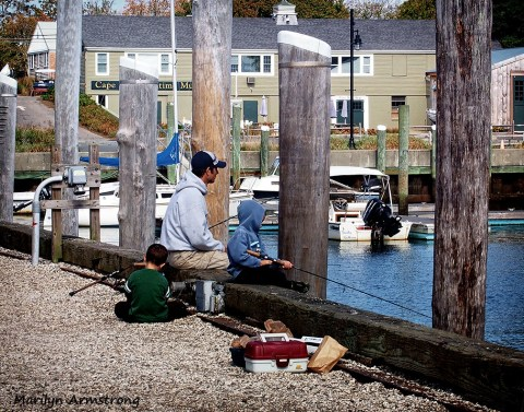 fishing Hyannisport