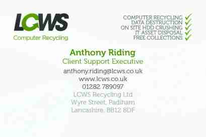 Anthony - LCWS