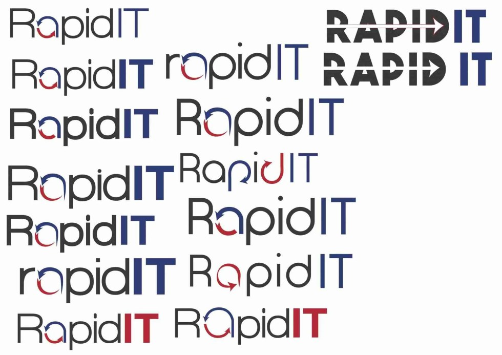 rapid it logo design 2