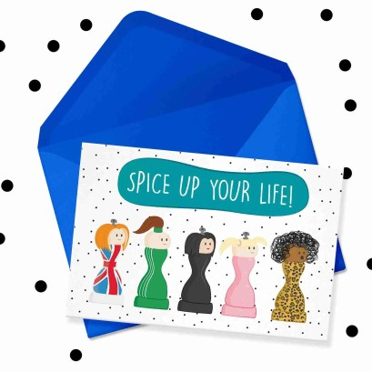 spice up your life card