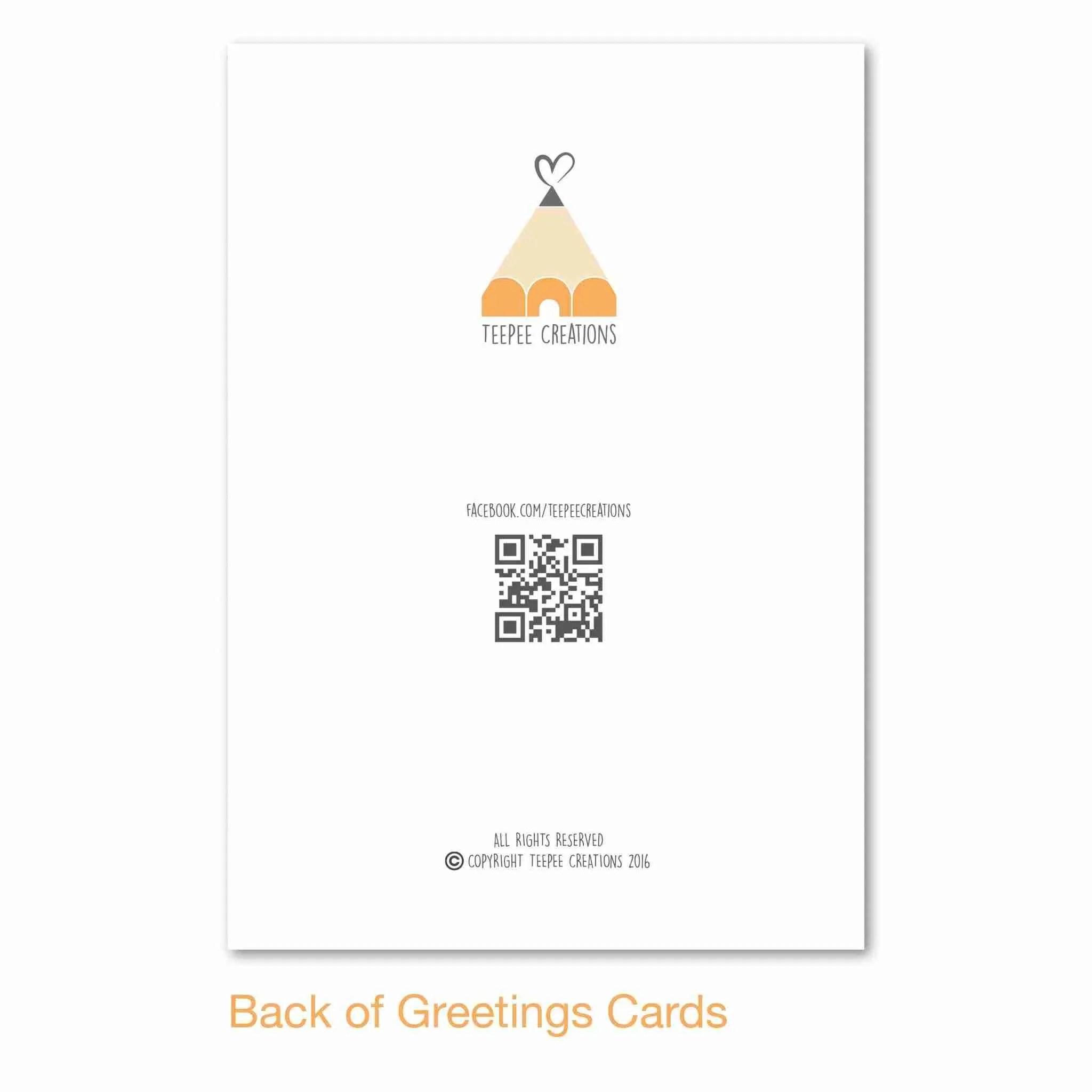 Business Card Teepee Creations