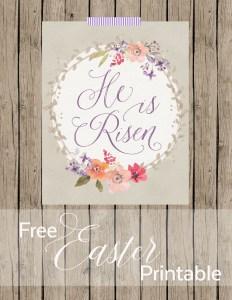Free Easter Print