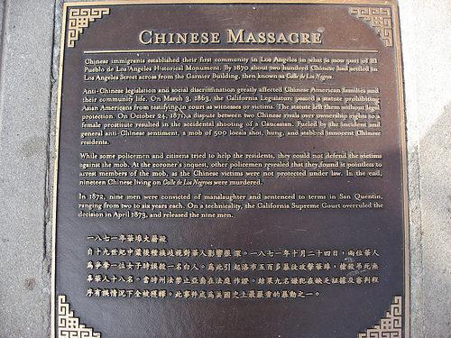 1871洛杉磯華人慘遭白人屠殺「美國拒寫進歷史書」,當年《排華法案》至今仍未徹底廢除!
