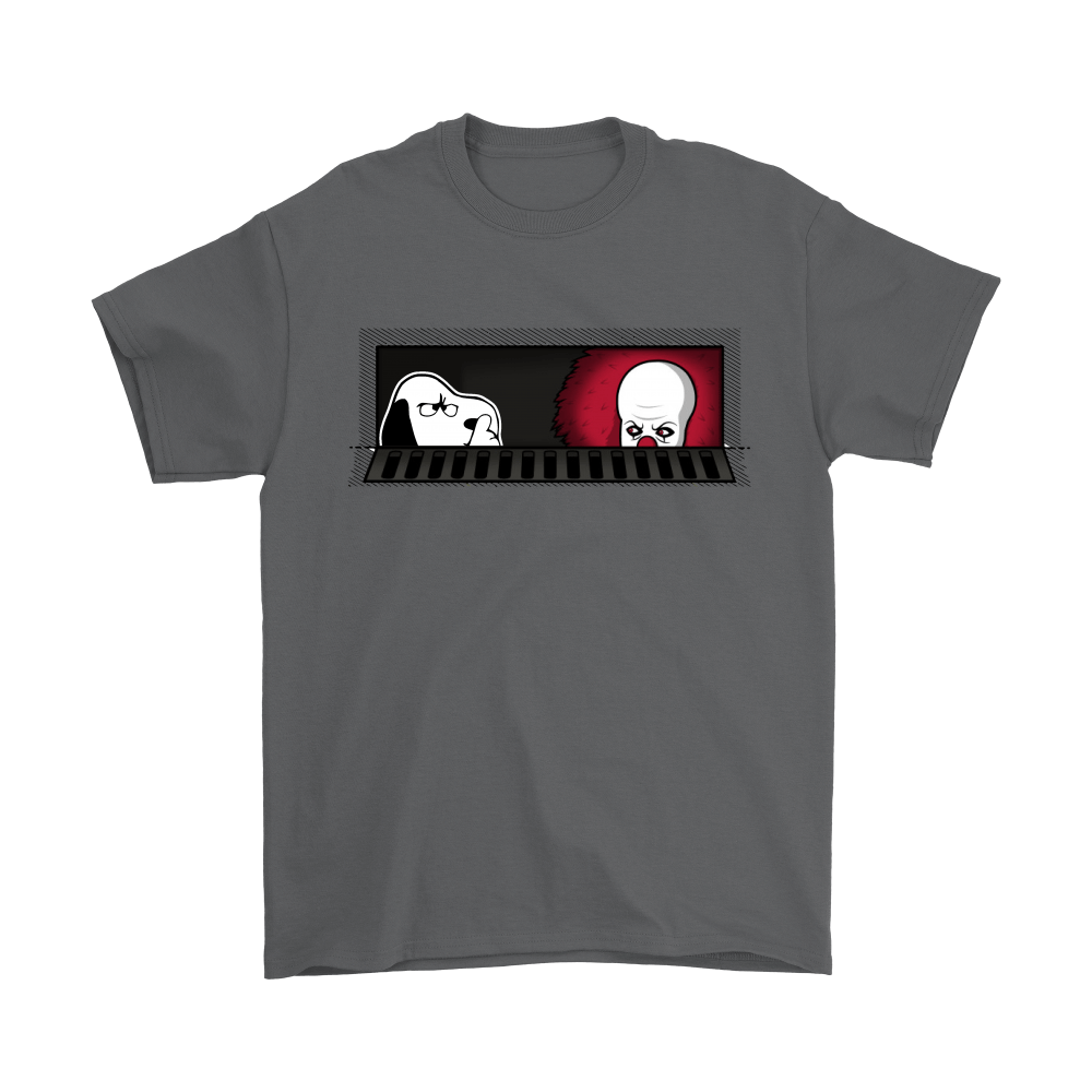 1990 Pennywise And Snoopy Sewermates! IT Stephen King Shirts 2