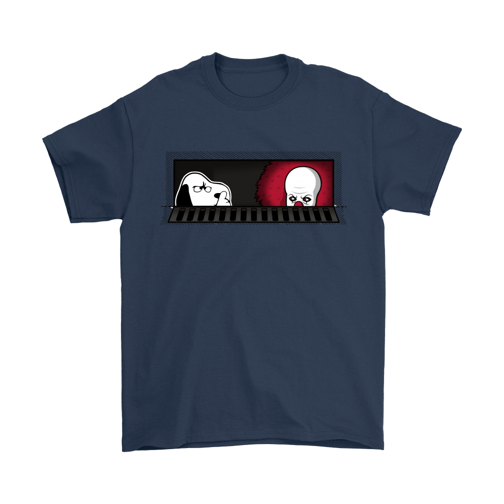 1990 Pennywise And Snoopy Sewermates! IT Stephen King Shirts 3