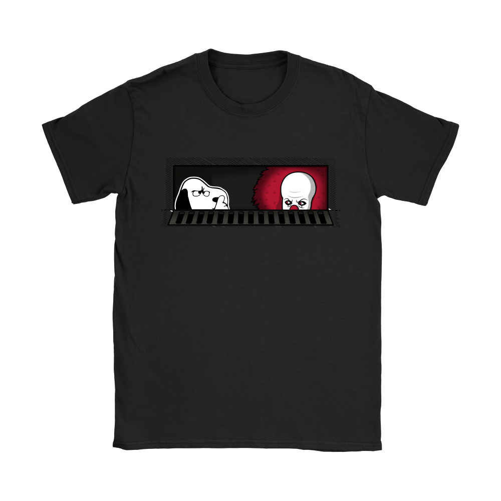 1990 Pennywise And Snoopy Sewermates! IT Stephen King Shirts 8