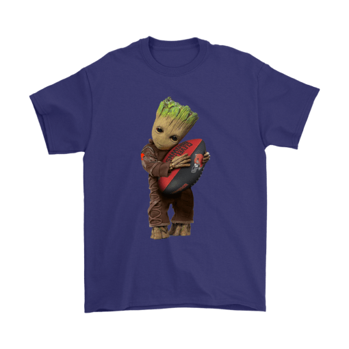 3D Groot I Love Cleveland Browns NFL Football Shirts 4