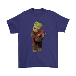 3D Groot I Love Cleveland Browns NFL Football Shirts 17