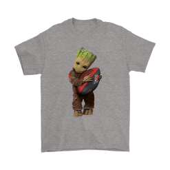 3D Groot I Love Cleveland Browns NFL Football Shirts 19