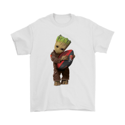 3D Groot I Love Cleveland Browns NFL Football Shirts 20