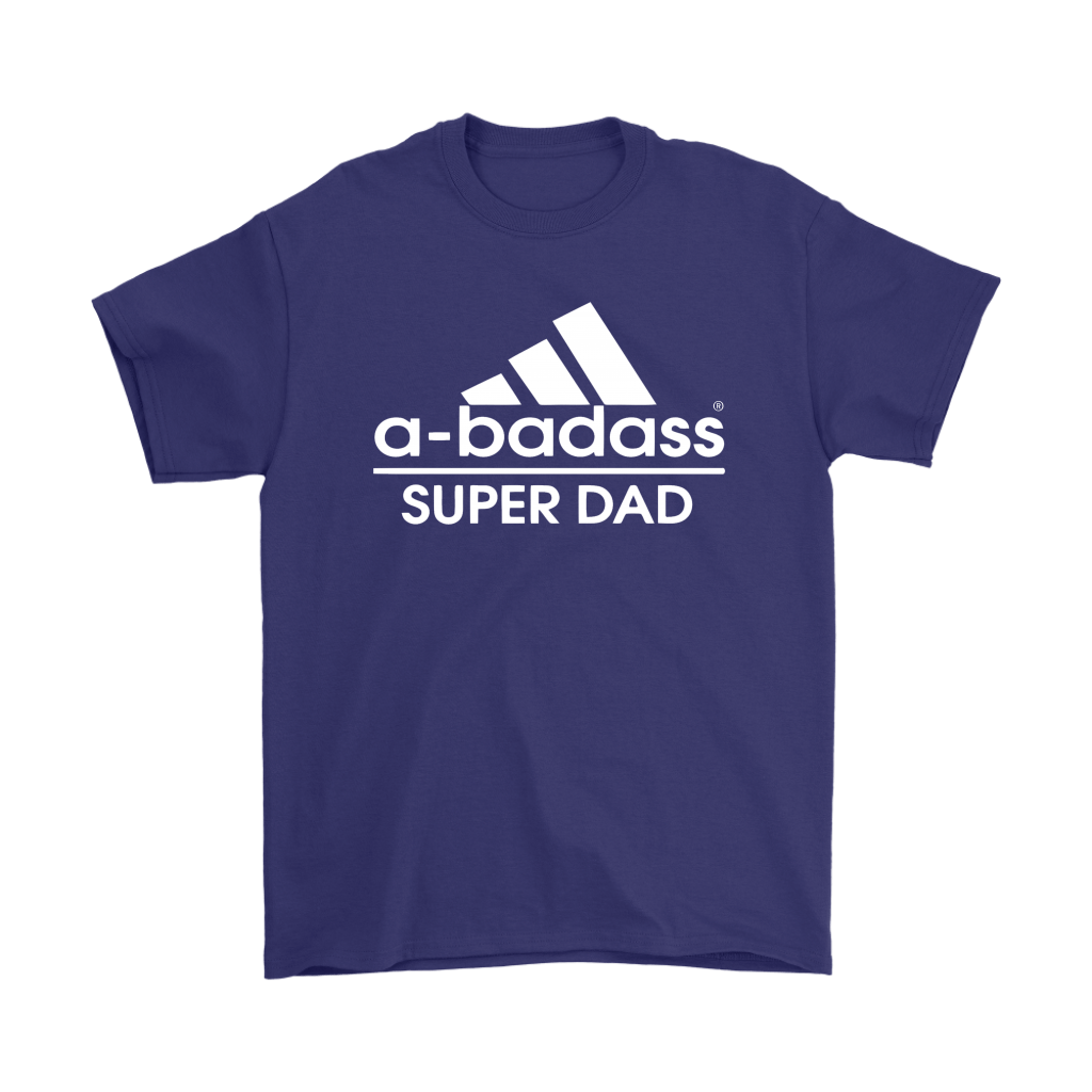 A-badass Super Dad Adidas Mashup Shirts 4
