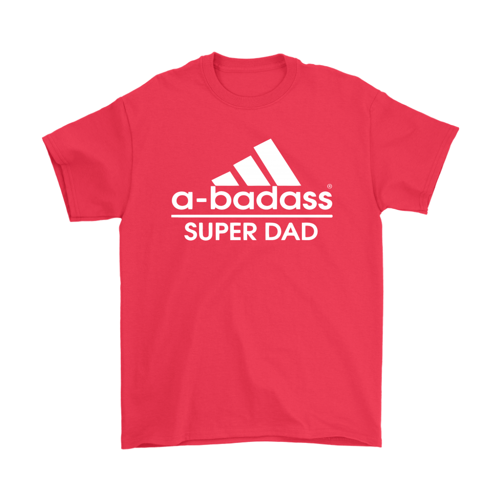 A-badass Super Dad Adidas Mashup Shirts 5
