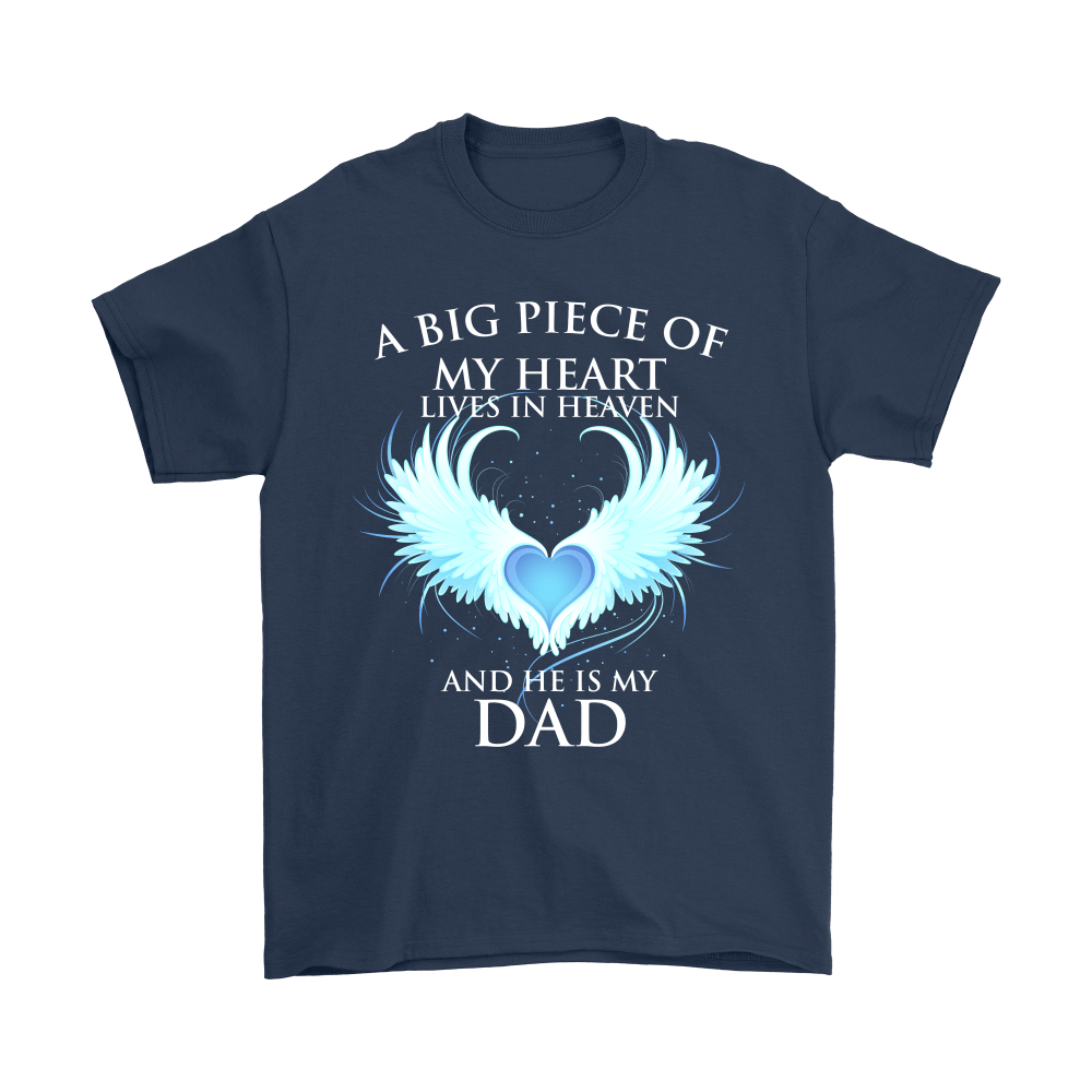 A Big Piece Of My Heart Lives In Heaven Shirts 3