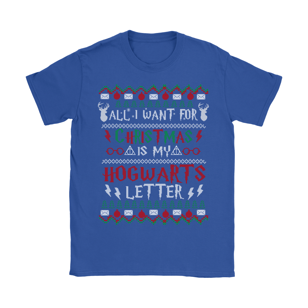 All I Want For Christmas Is My Hogwarts Letter Harry Potter Shirts 11