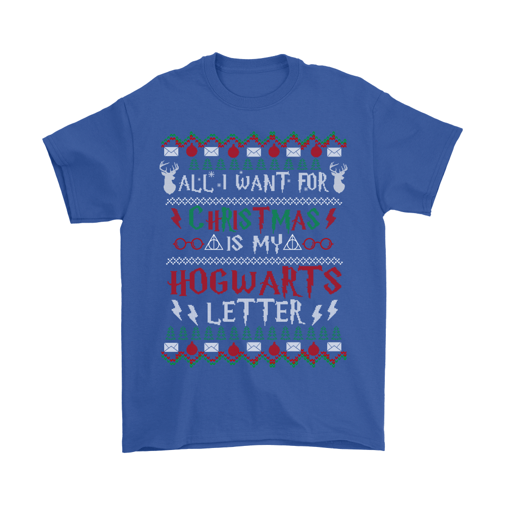 All I Want For Christmas Is My Hogwarts Letter Harry Potter Shirts 5