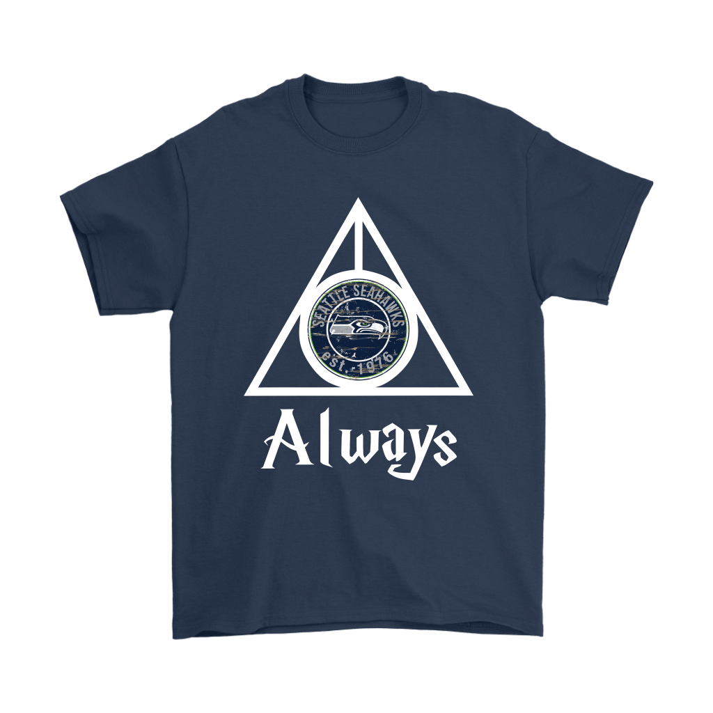 Always Love The Seattle Seahawks x Harry Potter Mashup Shirts 3