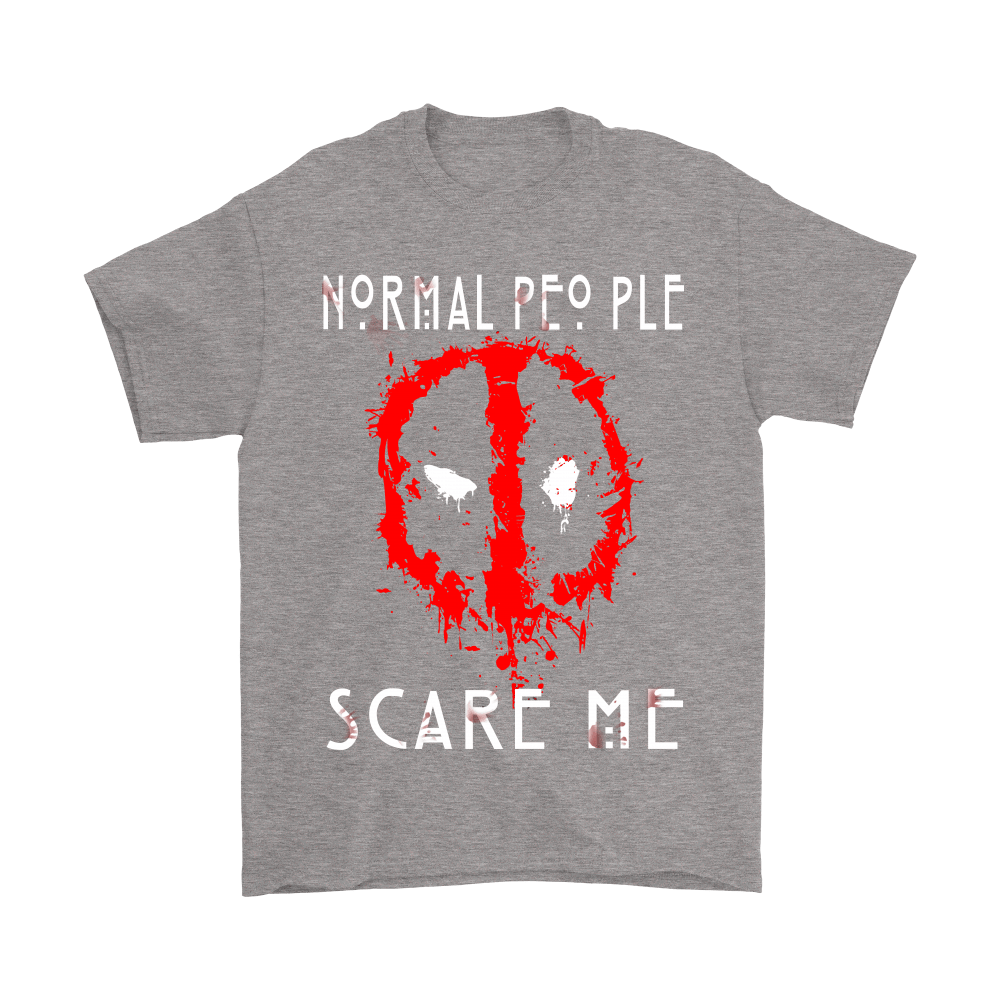 American Horror Story Normal People Scare Me Autism Deadpool Shirts 6