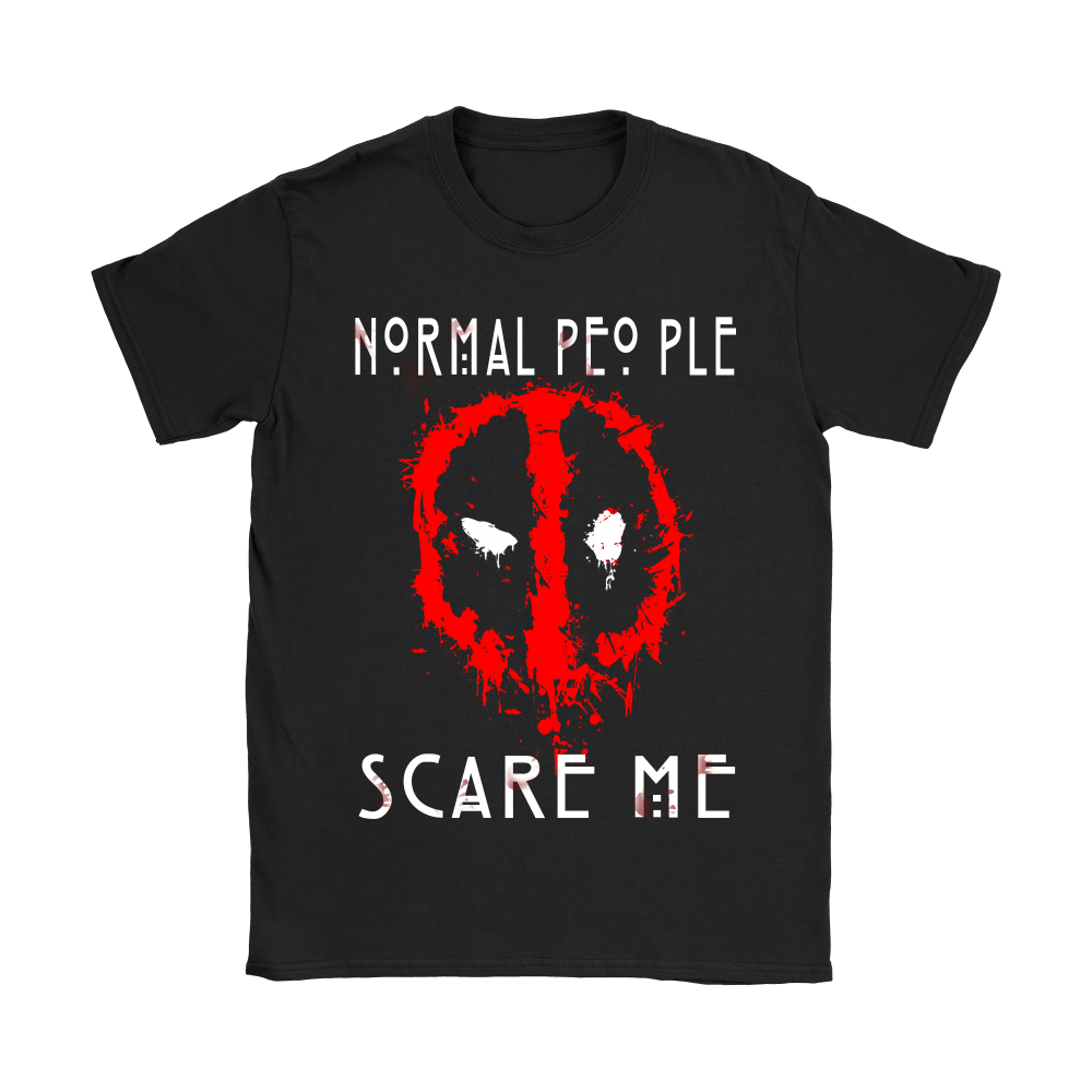 American Horror Story Normal People Scare Me Autism Deadpool Shirts 7