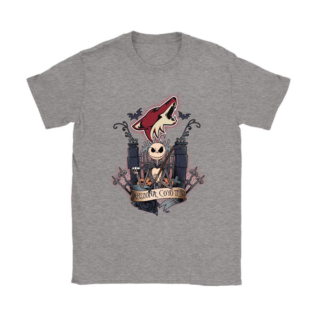 Arizona Coyotes Jack Skellington This Is Halloween NHL Shirts 12