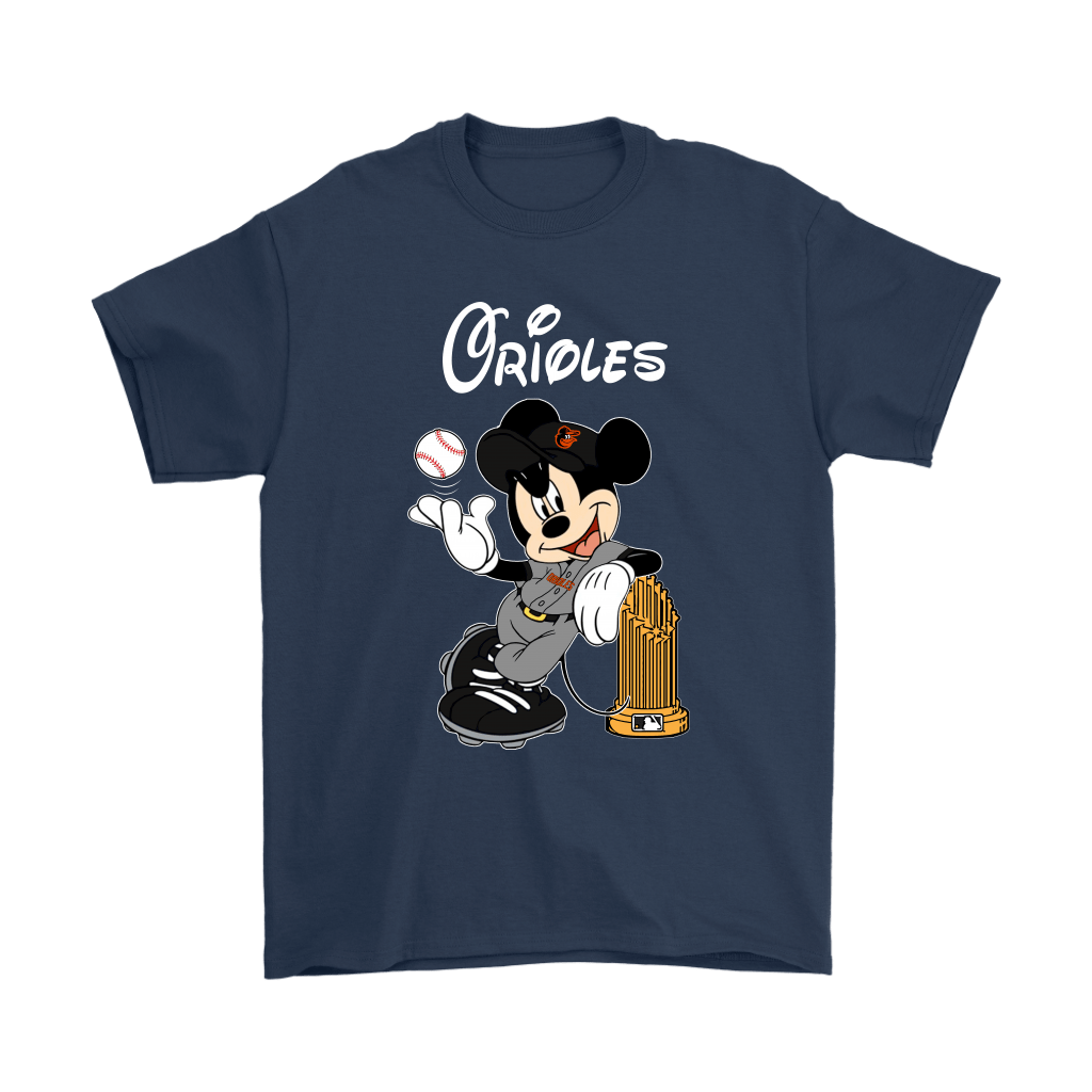 Baltimore Orioles Mickey Taking The Trophy MLB 2018 Shirts 3