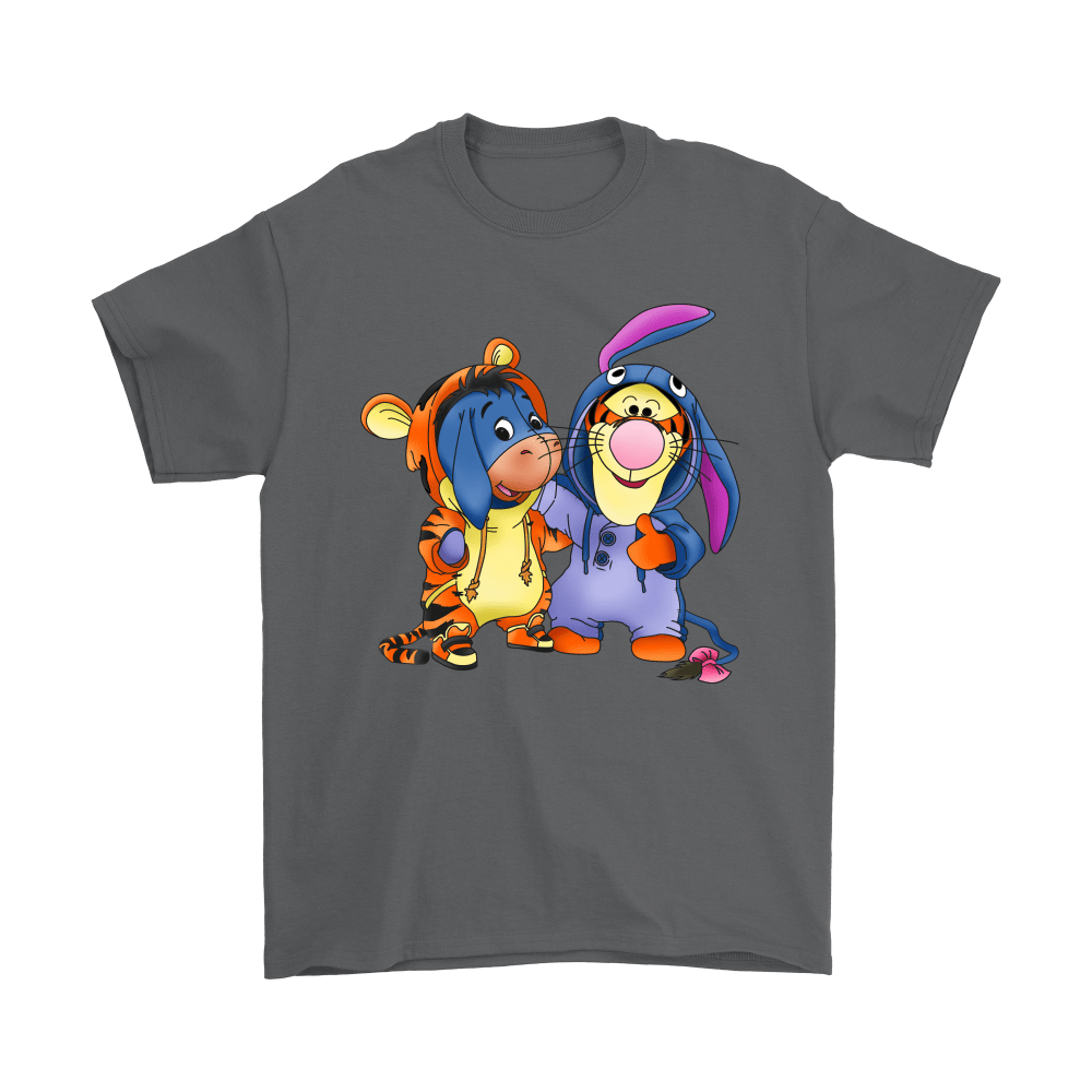 Best Friends Trade Costumes Tigger And Eeyore Shirts 2