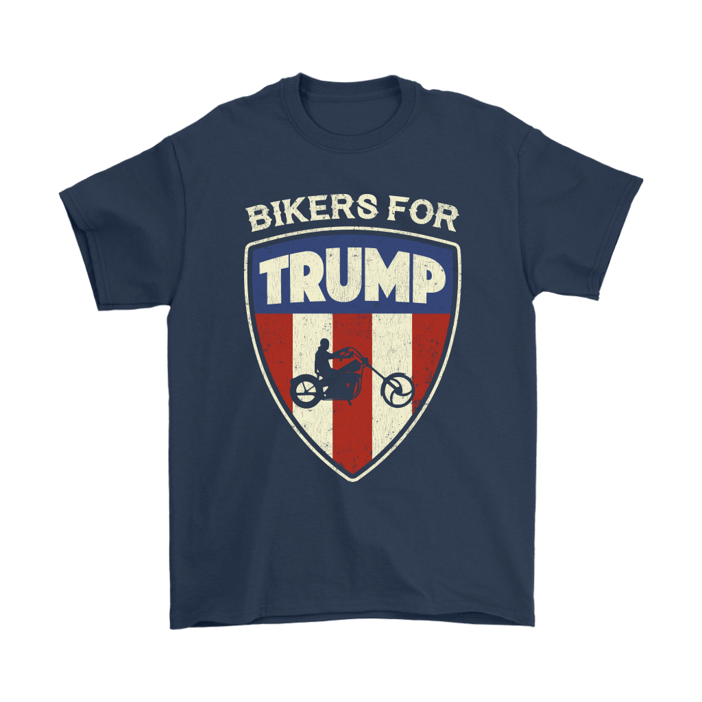 Bikers For Trump Donald Trump Support Shirts 3