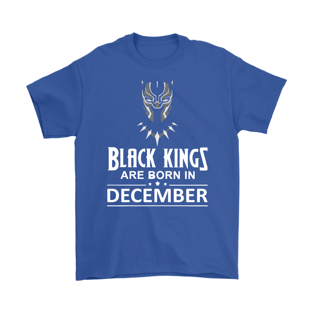 Black Kings Are Born In December Black Panther Shirts 5