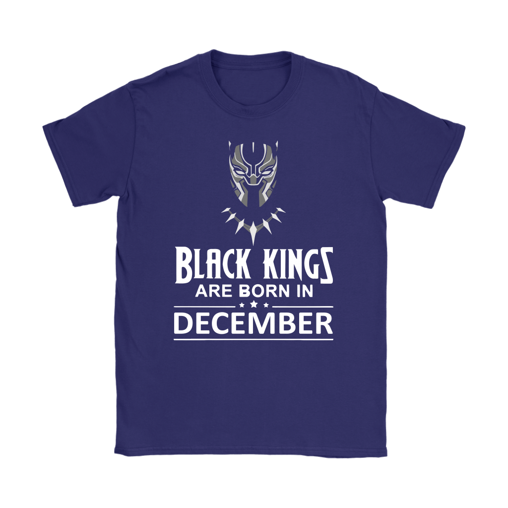 Black Kings Are Born In December Black Panther Shirts 9