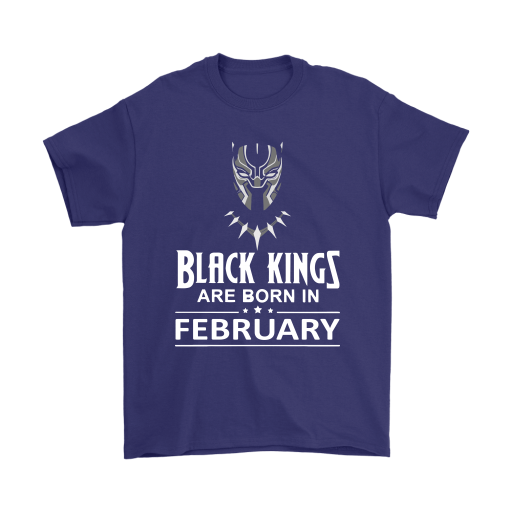 Black Kings Are Born In February Black Panther Shirts 4