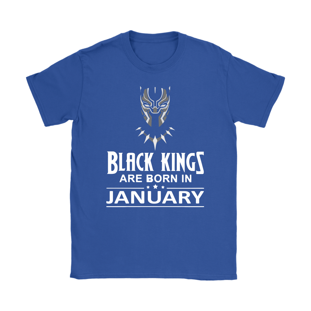 Black Kings Are Born In January Black Panther Shirts 10