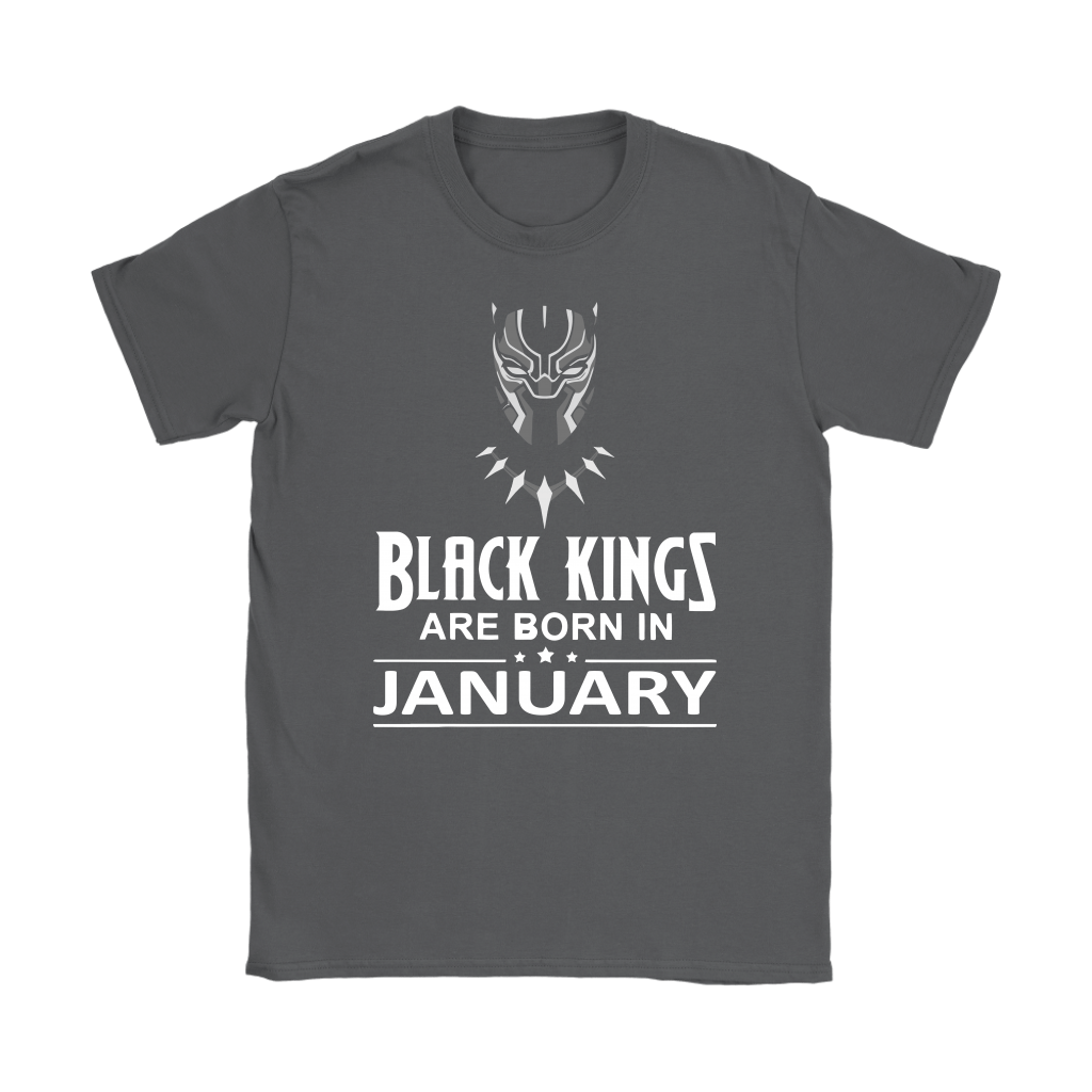Black Kings Are Born In January Black Panther Shirts 7