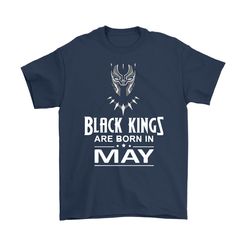 Black Kings Are Born In May Black Panther Shirts 3