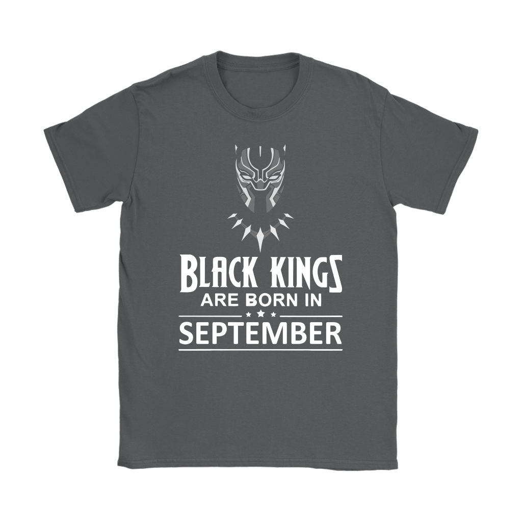 Black Kings Are Born In September Black Panther Shirts 7