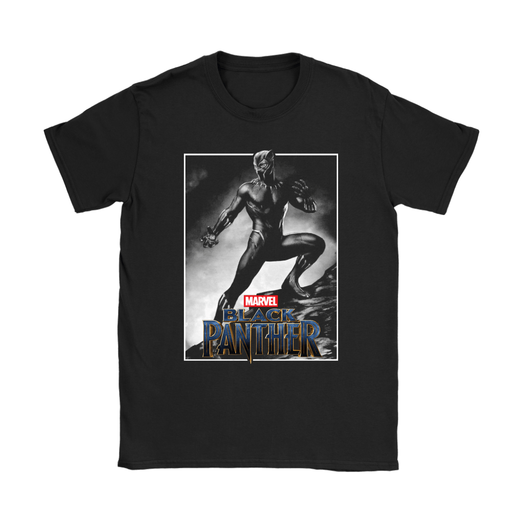 Black Panther Marvel Poster Style Shirts 4