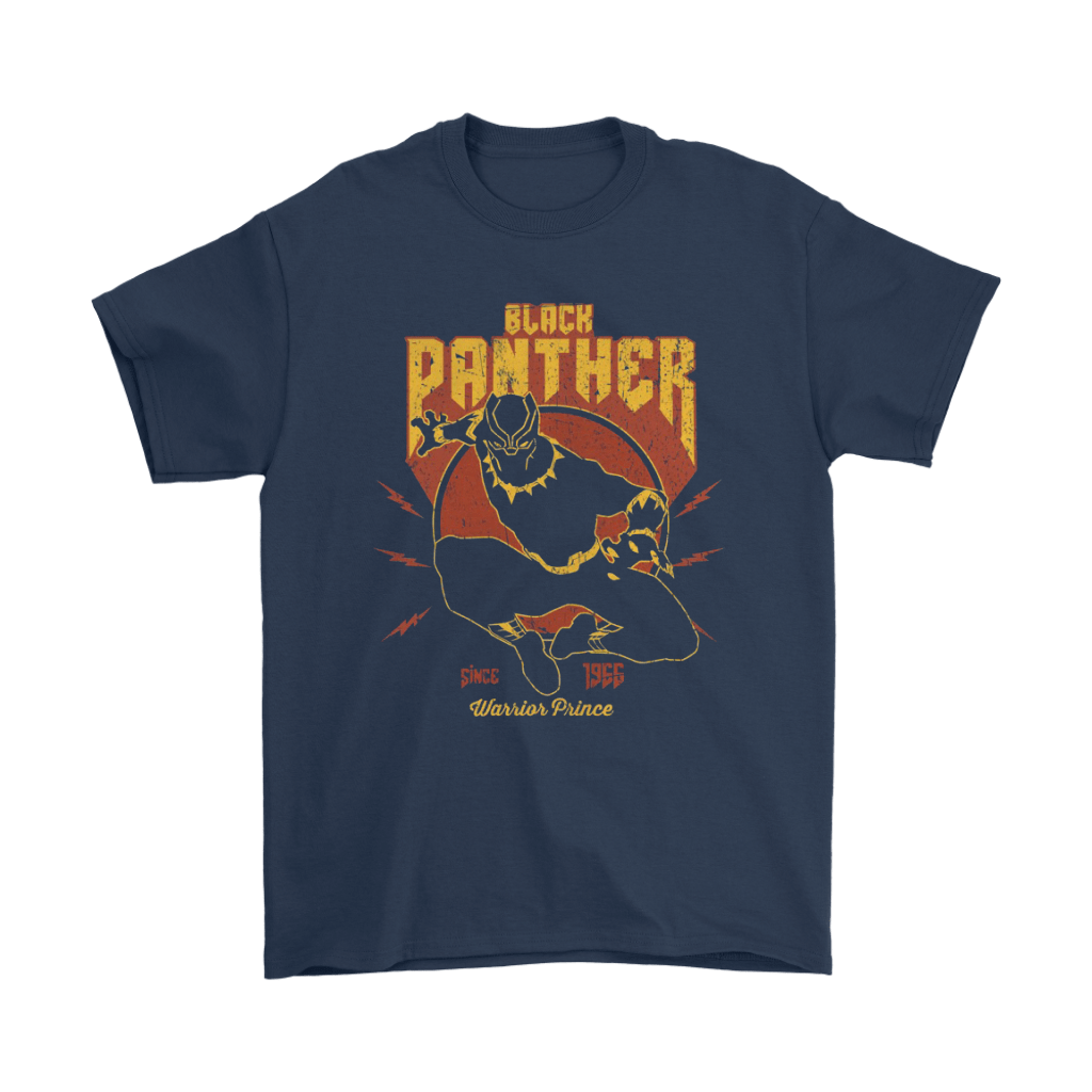 Black Panther Since 1955 Warrior Prince Shirts 3