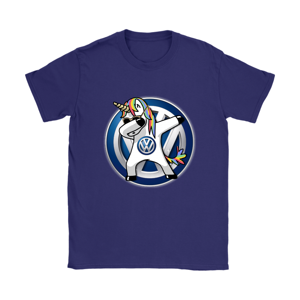 Car - I Flippin' Love Volkswagen Dabbing Hip Hop Unicorn Shirts 11