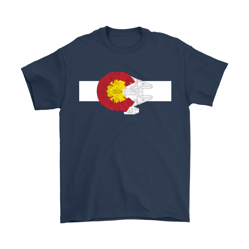 Colorado Millennium Falcon Star Wars Shirts 3
