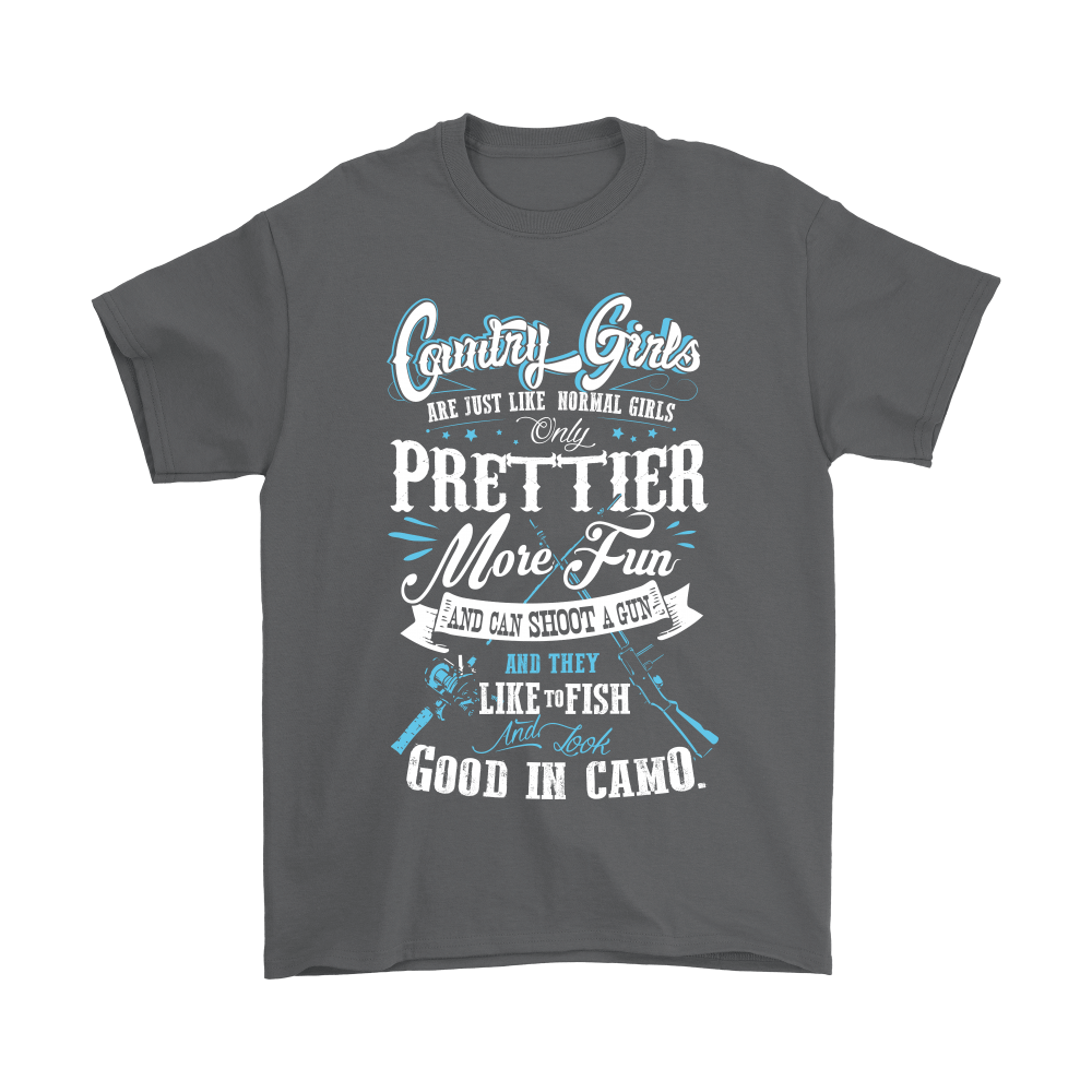 Country Girl Are Just Like Normal Girls Prettier Shirts 2