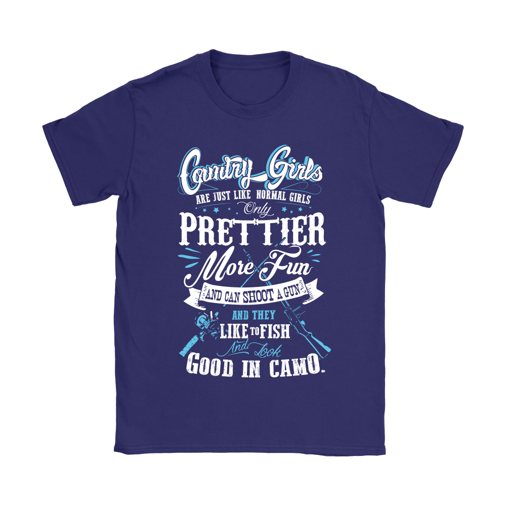 Country Girl Are Just Like Normal Girls Prettier Shirts 9
