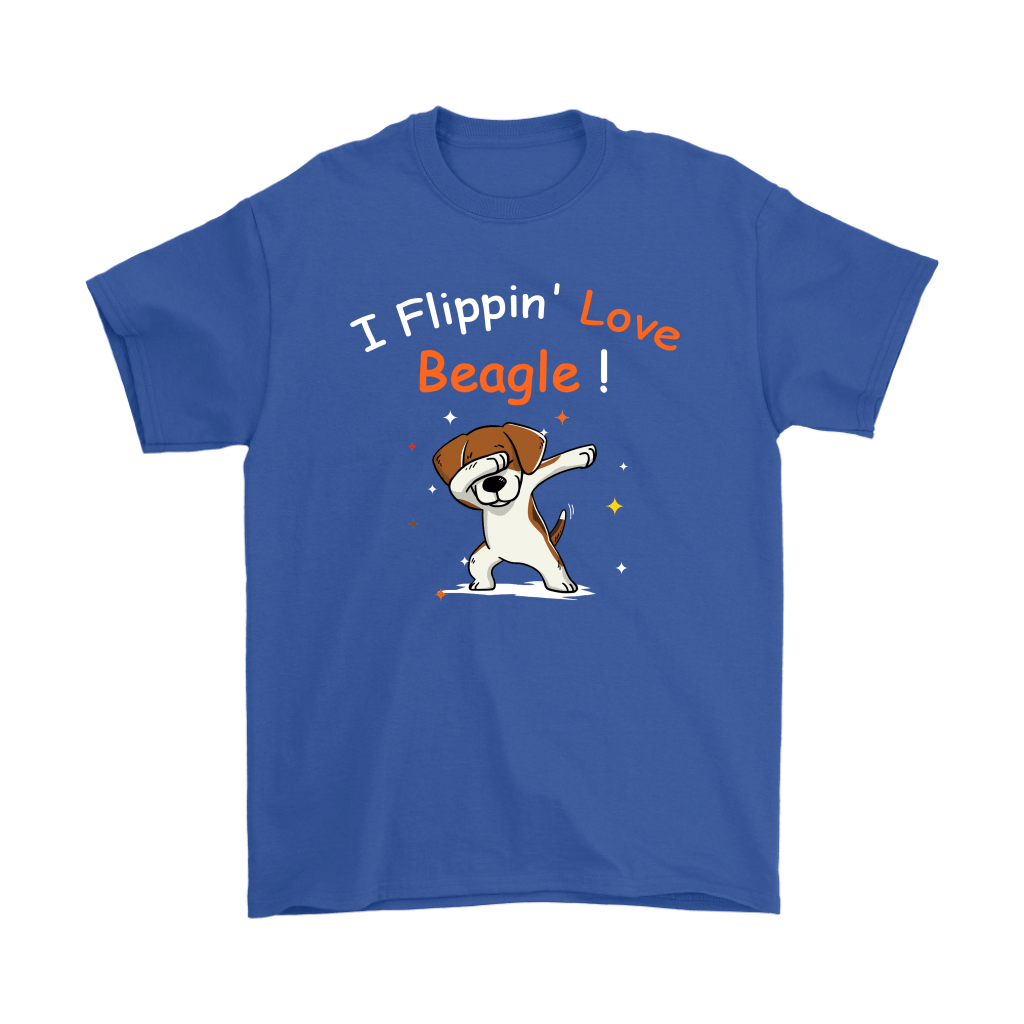 Dabbing Dog I Flippin' Love Beagle Shirts 5