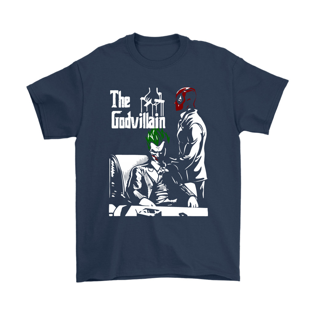 Deadpool And Joker The Godvillain The God Father Shirts 2