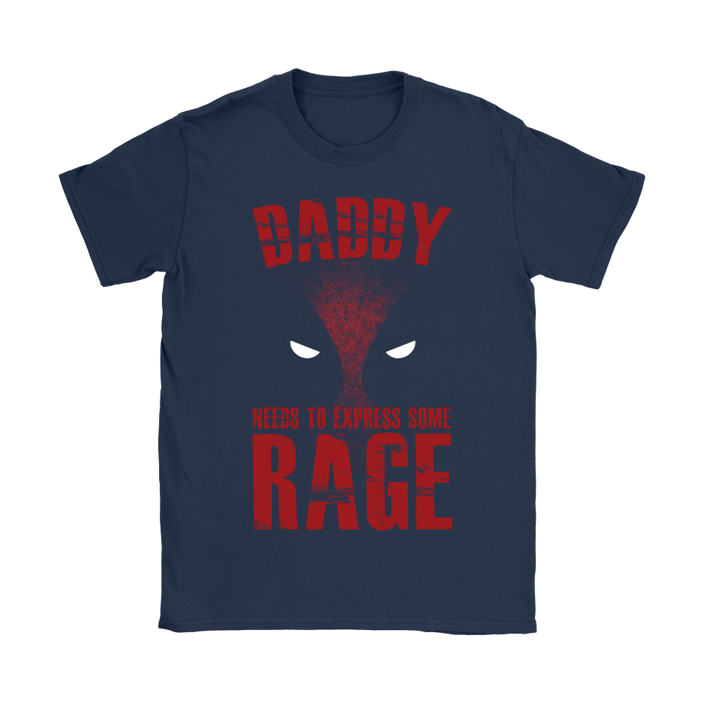 Deadpool Daddy Needs To Express Some Rage Shirts 5