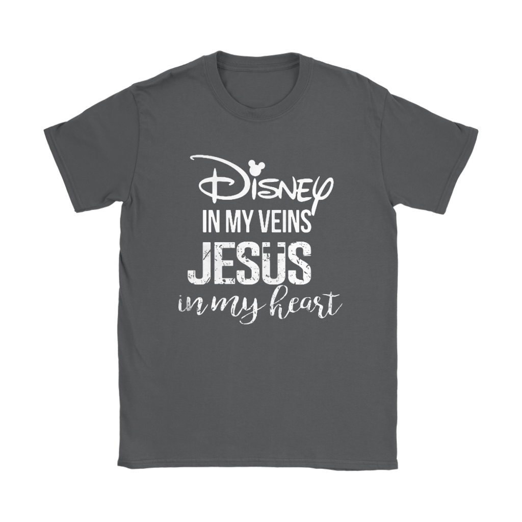 Disney In My Veins Jesus In My Hearts Shirts 23