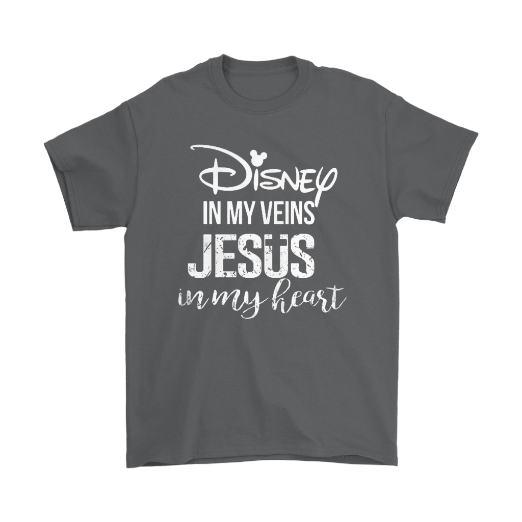 Disney In My Veins Jesus In My Hearts Shirts 15