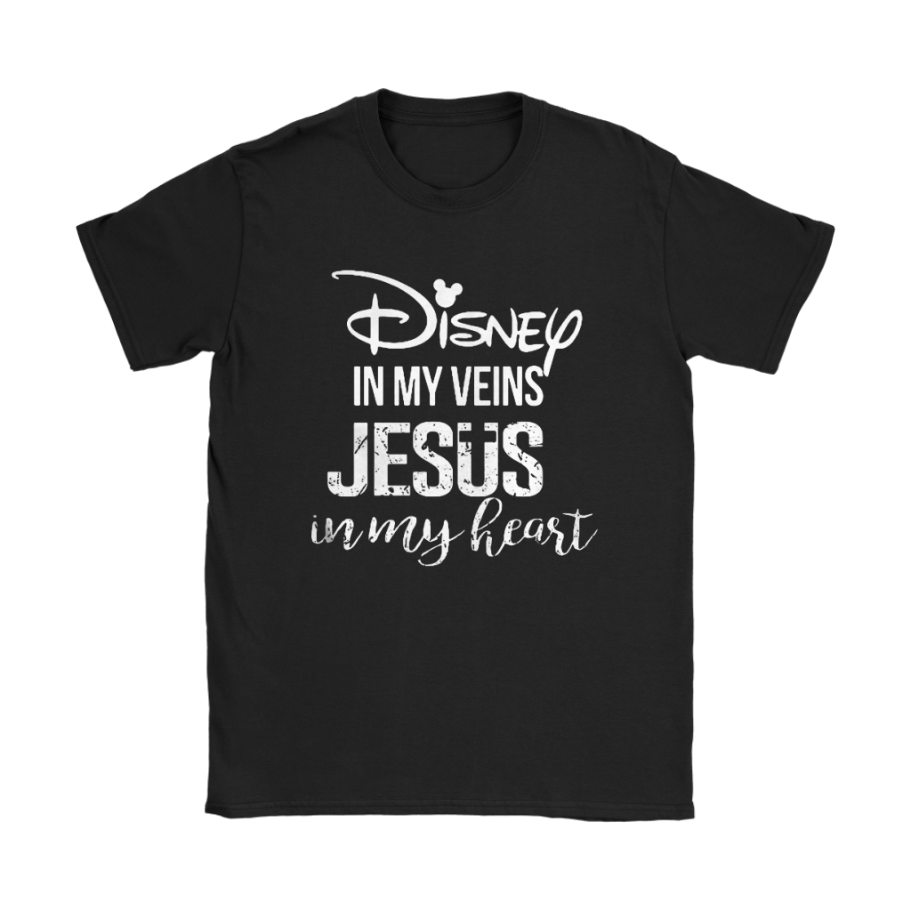 Disney In My Veins Jesus In My Hearts Shirts 21