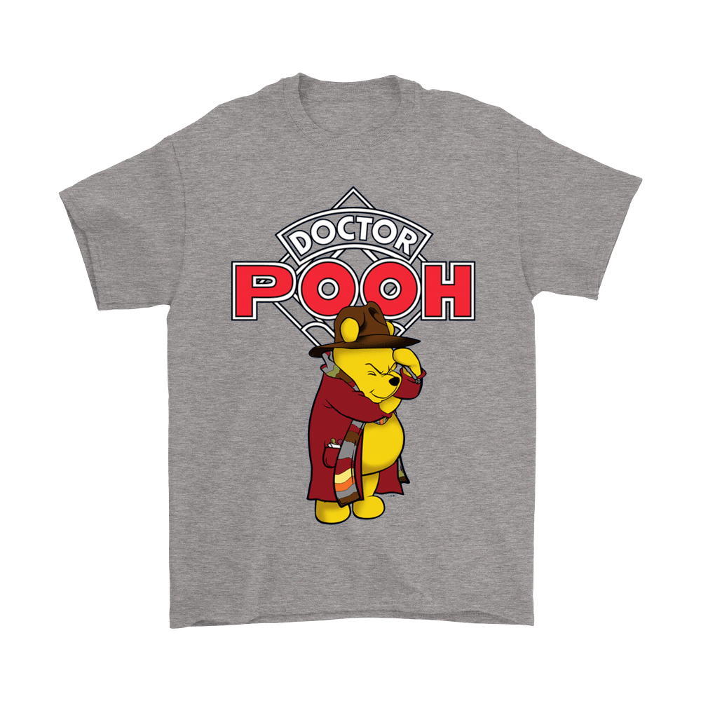 Doctor Who And Winnie The Pooh Crossover Doctor Pooh Shirts 6