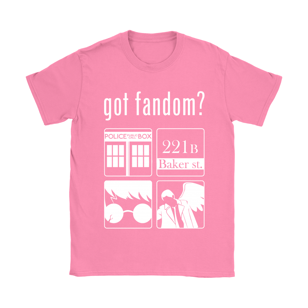 Doctor Who, Sherlock, Harry Potter And Supernatural Got Fandom Shirts 8
