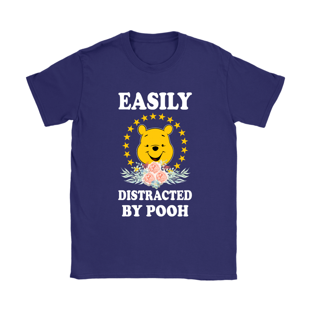 Easily Distracted By Winnie The Pooh Shirts 10