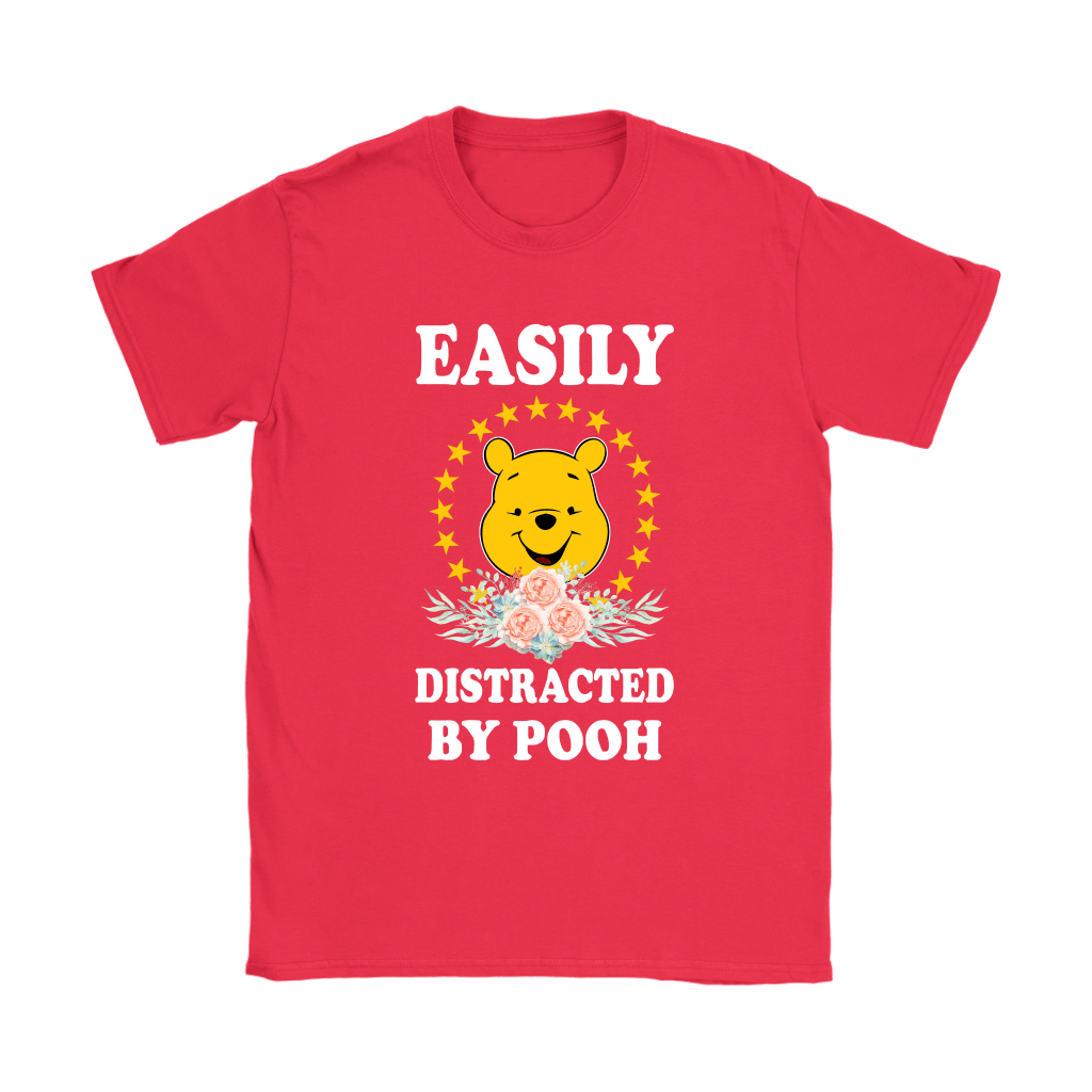 Easily Distracted By Winnie The Pooh Shirts 11